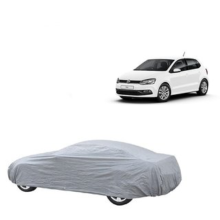 DrivingAID UV Resistant Car Cover For Audi S3 (Silver Without Mirror )