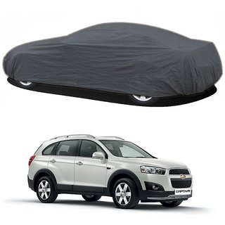 DrivingAID UV Resistant Car Cover For Fiat Bravo (Grey Without Mirror )