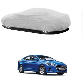DrivingAID Water Resistant  Car Cover For Mercedes Benz E-Class (Silver Without Mirror )