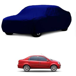 AutoBurn Car Cover For Maruti Suzuki Esteem (Blue Without Mirror )