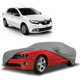 Bull Rider Car Cover For Nissan Micra Active (Grey With Mirror )