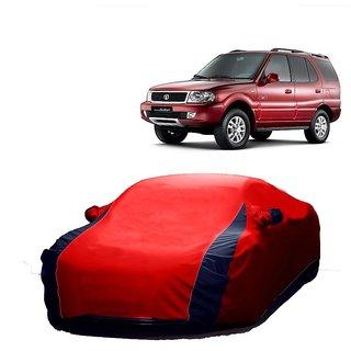 MotRoX UV Resistant Car Cover For Maruti Suzuki SX4 (Designer Red  Blue )