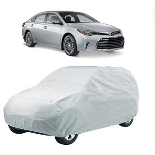 DrivingAID Car Cover For Toyota Avalon (Silver Without Mirror )