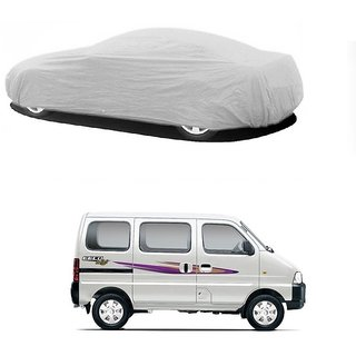DrivingAID Water Resistant  Car Cover For Renault Duster (Silver Without Mirror )