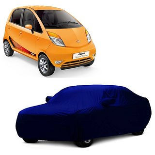 RoadPluS Car Cover For Mercedes Benz M-Class (Blue With Mirror )