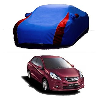 RoadPluS Car Cover For Maruti Suzuki Alto 800 (Designer Blue  Red )