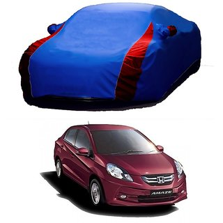 RoadPluS Car Cover For Maruti Suzuki Alto K10 (Designer Blue  Red )