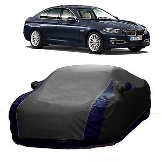 MotRoX UV Resistant Car Cover For Nissan 350 (Designer Grey  Blue )