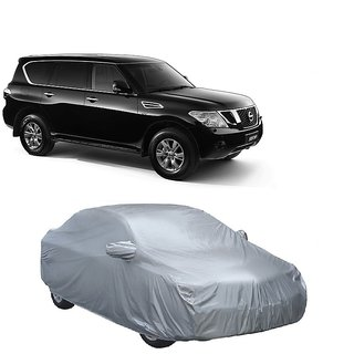 InTrend Water Resistant  Car Cover For Mahindra Reva (Silver With Mirror )