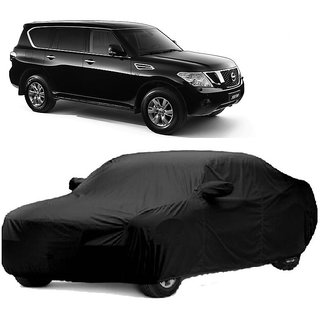 RideZ UV Resistant Car Cover For Audi RS6 (Black With Mirror )