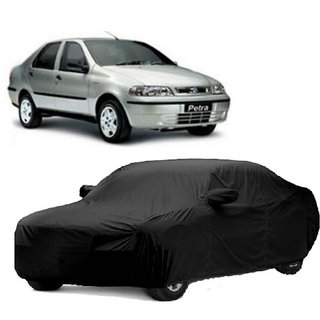 RideZ UV Resistant Car Cover For Audi RS7 (Black With Mirror )