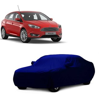 RoadPluS UV Resistant Car Cover For Toyota Sienna (Blue With Mirror )
