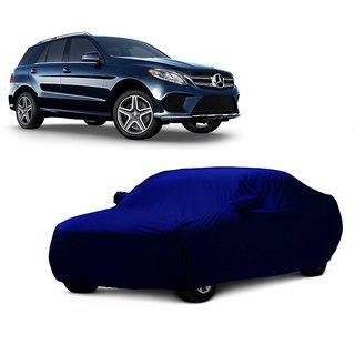 DrivingAID Car Cover For Hyundai Santro Xing (Blue With Mirror )