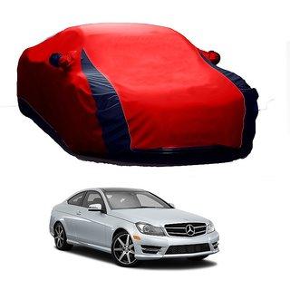 RoadPluS UV Resistant Car Cover For Mercedes Benz Benz C-Class (Designer Red  Blue )