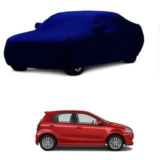 DrivingAID Car Cover For Maruti Suzuki Swift (Blue With Mirror )