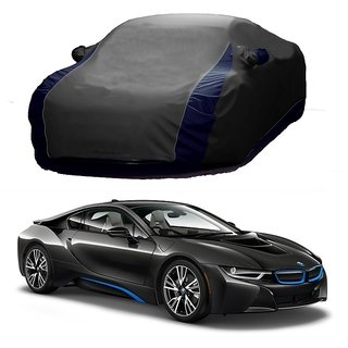 RideZ UV Resistant Car Cover For Tata Indica Vista (Designer Grey  Blue )