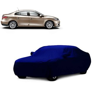 RoadPluS UV Resistant Car Cover For Mercedes Benz SL-Class (Blue With Mirror )