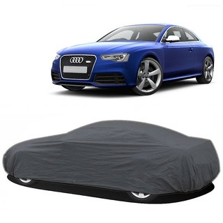 RoadPluS UV Resistant Car Cover For Hyundai SantaFe (Grey Without Mirror )