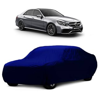 RoadPluS UV Resistant Car Cover For Audi A8 (Blue Without Mirror )