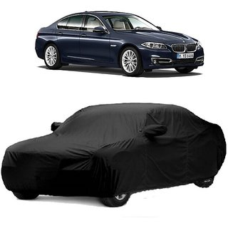 DrivingAID Car Cover For Nissan 350 (Black With Mirror )