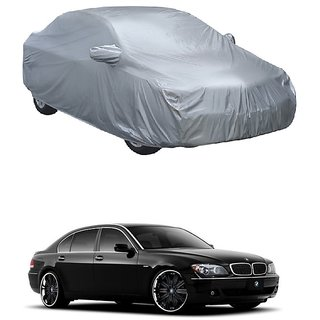 RoadPluS UV Resistant Car Cover For Nissan 350 (Silver With Mirror )