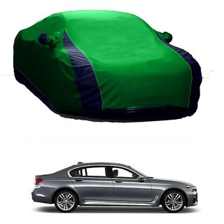 RideZ UV Resistant Car Cover For BMW 6 Series (Designer Green  Blue )