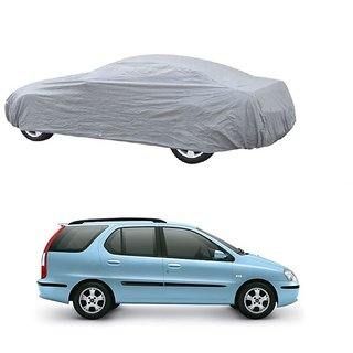 DrivingAID All Weather  Car Cover For Volkswagen Jetta (Silver Without Mirror )