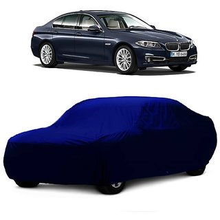 InTrend Water Resistant  Car Cover For Tata Zest (Blue Without Mirror )