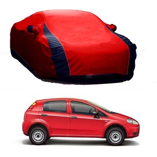 InTrend Water Resistant  Car Cover For Audi S3 (Designer Red  Blue )