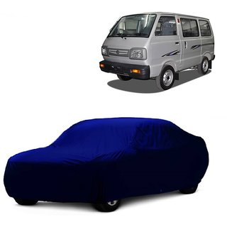 MotRoX Water Resistant  Car Cover For Datsun Redi GO (Blue Without Mirror )