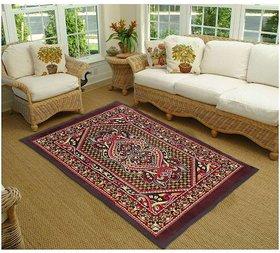 K Brown,Yellow Decor Dari/Carpet