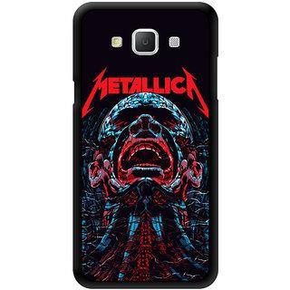 Metallica Obsession Printed Designer Mobile Back Cover For