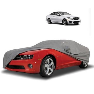 AutoBurn Car Cover For Mercedes Benz Benz S Class S350 (Grey With Mirror )