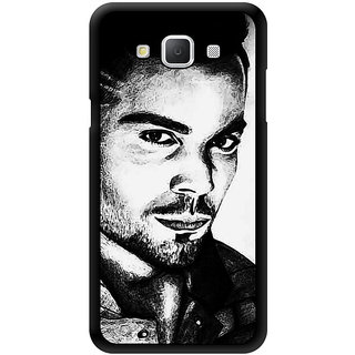 Virat Kohli Love Printed Designer Mobile Back Cover For