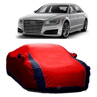 Buy RideZ Car Cover For Audi A Designer Red Blue Online Get - Audi a8 car cover