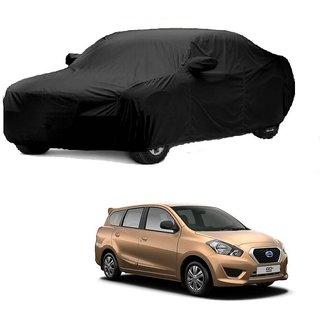 DrivingAID UV Resistant Car Cover For Maruti Suzuki Grand Vitara (Black With Mirror )