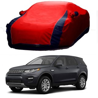 RideZ Car Cover For Honda Civic (Designer Red  Blue )