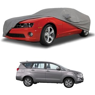 Bull Rider UV Resistant Car Cover For Renault Koleos (Grey With Mirror )