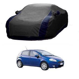 RideZ Car Cover For Maruti Suzuki Gypsy King (Designer Grey  Blue )