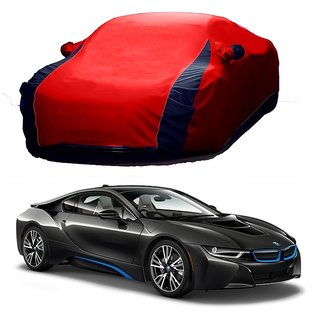 RideZ Car Cover For Tata Indica Vista (Designer Red  Blue )