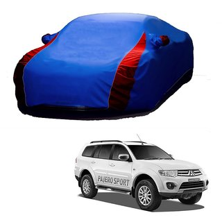 Bull Rider All Weather  Car Cover For Maruti Suzuki Ritz (Designer Blue  Red )