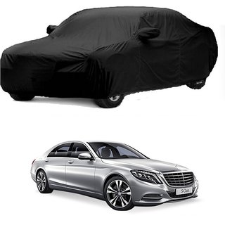 AutoBurn Water Resistant  Car Cover For Honda Cr-V (Black With Mirror )