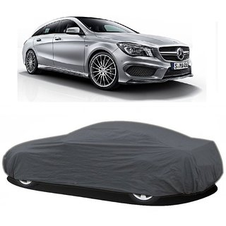 DrivingAID All Weather  Car Cover For Mercedes Benz Benz S 350 (Grey Without Mirror )