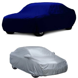 AutoBurn Car Cover For BMW Alpina B7 (Blue Without Mirror )
