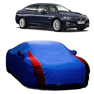 DrivingAID UV Resistant Car Cover For Nissan 350 (Designer Blue  Red )