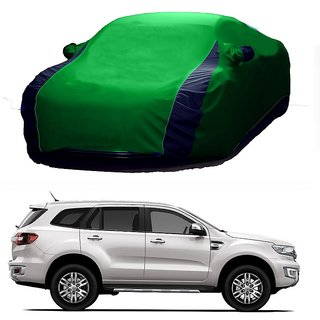 RideZ Car Cover For Mercedes Benz E-Class (Designer Green  Blue )