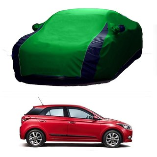 Bull Rider All Weather  Car Cover For Ford Ecosport (Designer Green  Blue )
