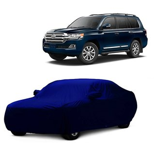 RoadPluS Car Cover For Audi Q3 (Blue With Mirror )