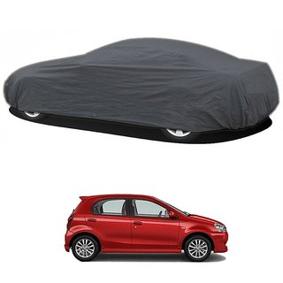 InTrend Water Resistant  Car Cover For Hyundai Elantra (Grey Without Mirror )
