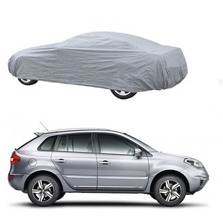 AutoBurn Water Resistant  Car Cover For Fiat Linea Classic (Silver Without Mirror )